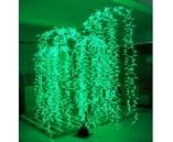 "Световое дерево ""Ива плакучая"" Зеленое, 2.5х1.5 м"
