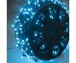 LED Клип Лайт, шаг 150 мм синий, с трансформатором