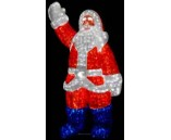 """Световая фигура акриловая """"Санта Клаус"""", 120 см"""