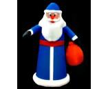 """Фигура надувная """"Дед Мороз в синем халате"""", 1.8 м"""