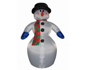 """Фигура надувная """"Снеговик"""", 6 м в интернет-магазине BigNeon.ru"""