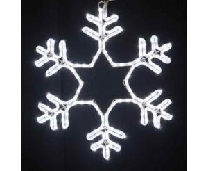 """Светодиодная """"Снежинка LED"""", 75х75 см, белая"""