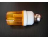 Строб лампа с цоколем желтая
