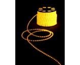 Дюралайт двухжильный (фиксинг), цвет желтый, 13 мм , 220 В, 2,4 Вт/м, 2 жилы, 1 канал, шаг диодов 2.77 см.