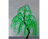 "Световое дерево ""Ива плакучая"" Зеленое, 1.5х0.6 м"