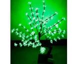 Световой вишневый куст Зеленый, высота 0.8 м, диаметр 0.8 м