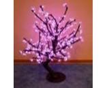 Световой вишневый куст Розовый, высота 0.8 м, диаметр 0.8 м