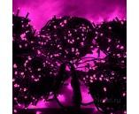 5 нитей по 20 м, Гирлянда на деревья, с трансформатором, розовая