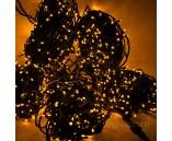 3 нити по 20 м, Гирлянда на деревья, с трансформатором, желтая