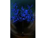 """Светодиодное дерево """"Сакура"""", высота 1.9 м, диаметр 1.5 м, синее"""