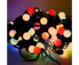 """10 м, быстрая смена цвета, цвет RGB, Светодиодная гирлянда """"Мультишарики"""""""