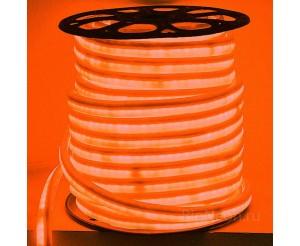 Гибкий неон - LED Neon Flex, цвет оранжевый, 16*26мм, цена за 1 м