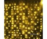 2х1.5 м, Светодиодный дождь ( LED Плей Лайт), желтые диоды, мерцающий
