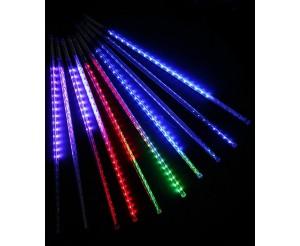 """Гирлянда """"Тающие сосульки"""" (50 см, 10 сосулек на шнуре, RGB)"""